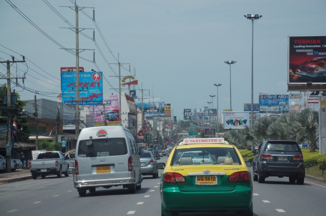 Traffic in Pattaya