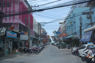 Pattaya side street
