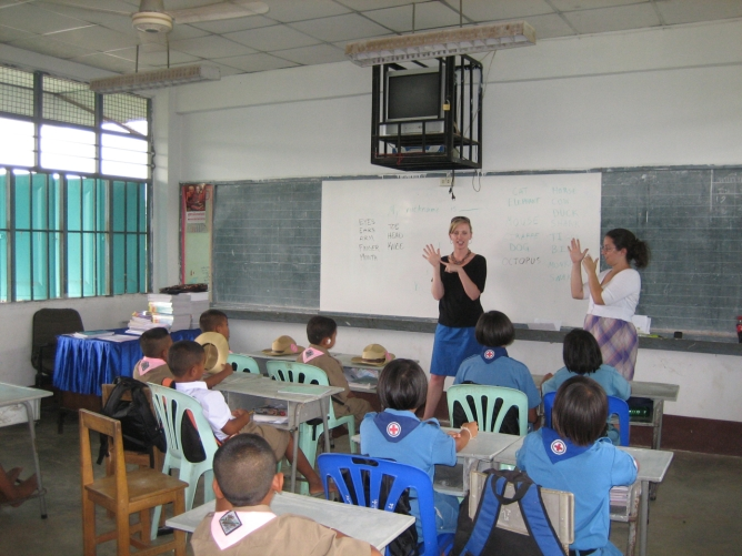 First day in the classrooms