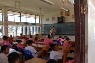 Second day in the Classrooms