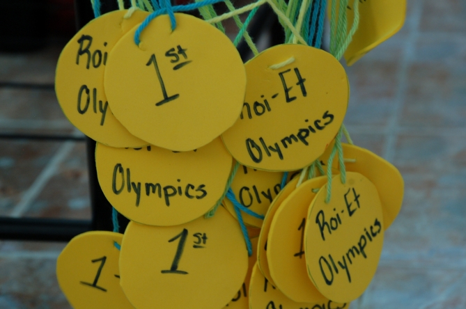 Medals for the Olympic Sports Day